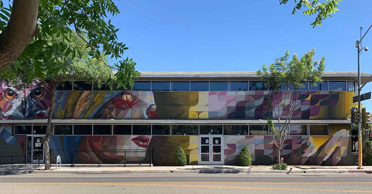 The mural at Fulton 55