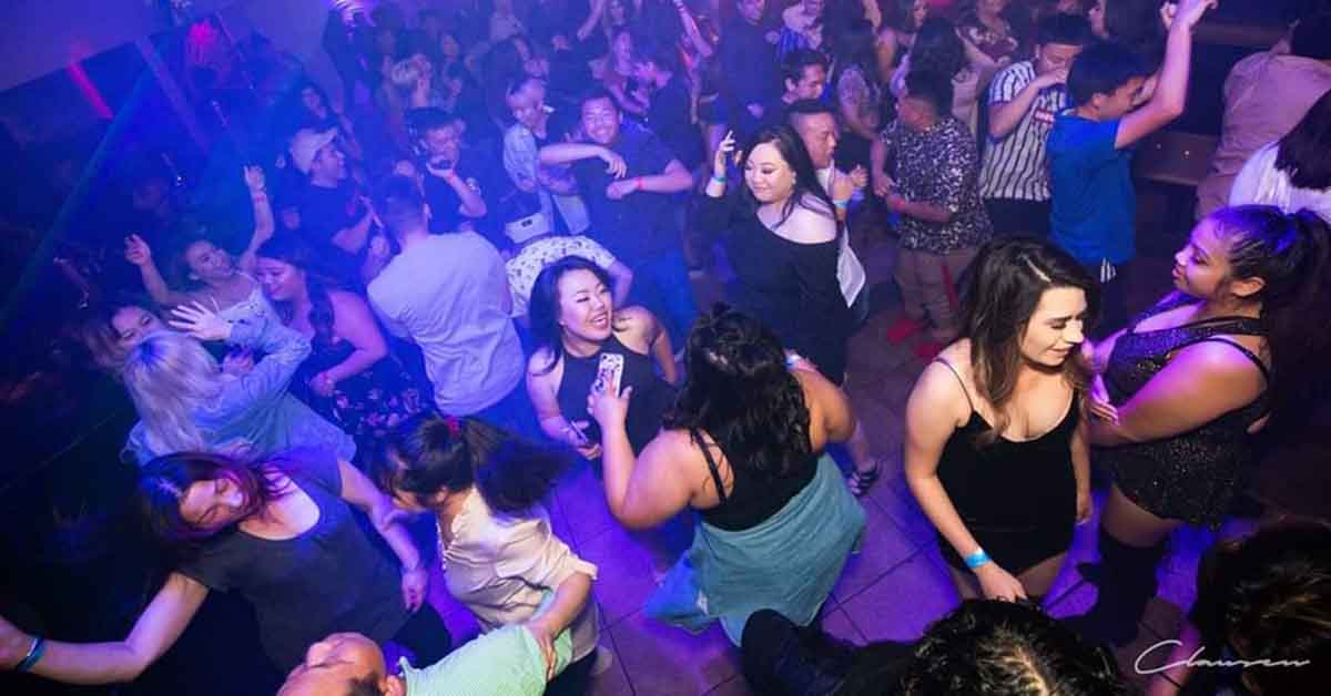 The dance floor of Switch Club