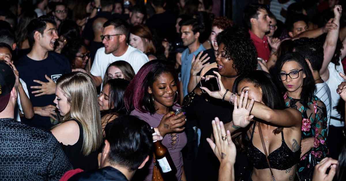 The dancefloor of Club Congress